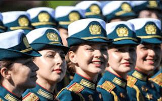 tentara wanita rusia