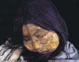 gadis suku inca
