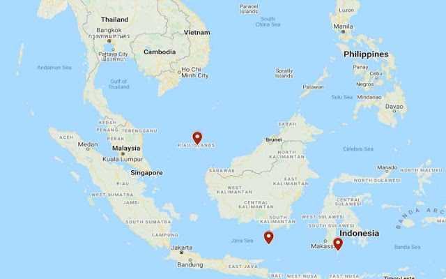Drone bawah air china di perairan Indonesia