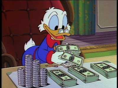 donal punya banyak uang