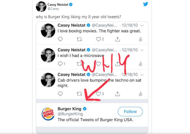 tweet burger king
