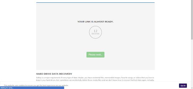 Cara Download File di Shrinkme