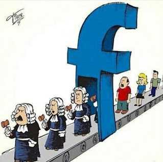 hakim di media sosial