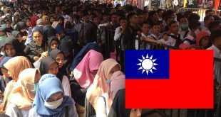 Gaji TKI:TKW Taiwan