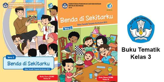buku Tematik Kelas 3 SD:MI Edisi Revisi 2018